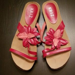 Kriz Sandals With Flower size 41